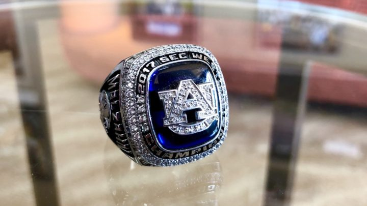 SEC West Rings!? Auburn, You're Better Than That