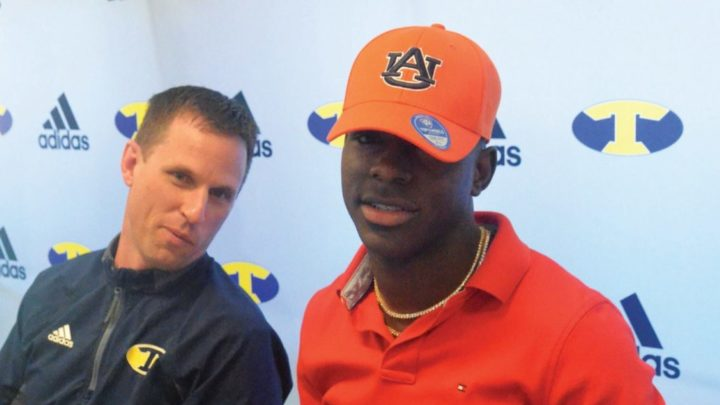 Kobe Hudson joins High School Teammate Andy Boykin in Auburn's 2020 commitment class