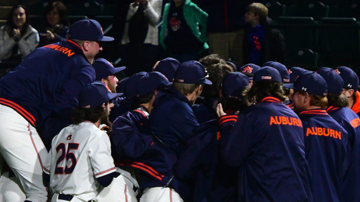 Auburn Baseball Heading to Raleigh for Regional Play