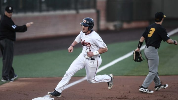 Auburn Returns to Plainsman Park for a Three-Game Set with Vanderbilt