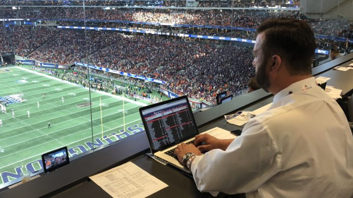 Window into the World of a College Football Writer