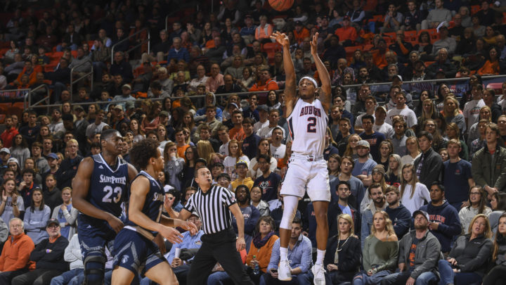 No. 12 Auburn handles North Florida in final non-conference game